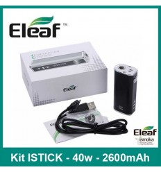 KIT ISTICK TC 40W - 2600mAh Eleaf