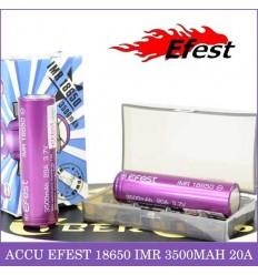 Accus 18650 - 3500mAh Efest