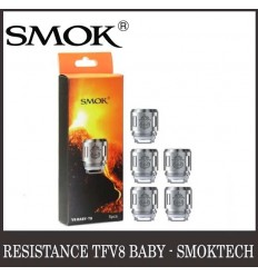 RÉSISTANCE TFV8 BABY T8 - SMOKTECH