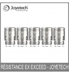 Résistances EX Exceed - Joyetech