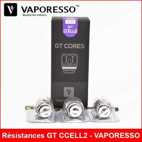 Résistances GT CCELL2 - VAPORESSO