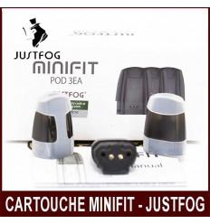 CARTOUCHE MINIFIT POD 3EA DE JUSTFOG