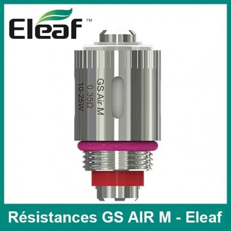 Résistance GS Air Eleaf - lot de 5