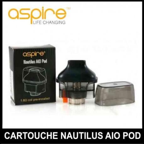 cartouche pour kit nautilus aio pod
