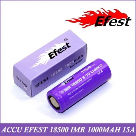 ACCU IMR 18500 - 1000MAH EFEST