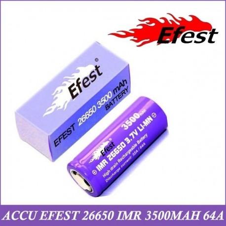 ACCU IMR 26650 - 3500MAH EFEST