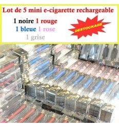 Lot de 5 mini E-cigarette ELUV 320MAH