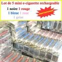 Lot de 5 mini E-cigarette ELUV 320MAH