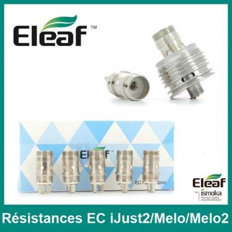 RESISTANCE EC - iJust2/Melo/Melo2- LOT de 5 - ELEAF