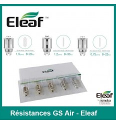 Résistance GS Air Eleaf - lot de 5