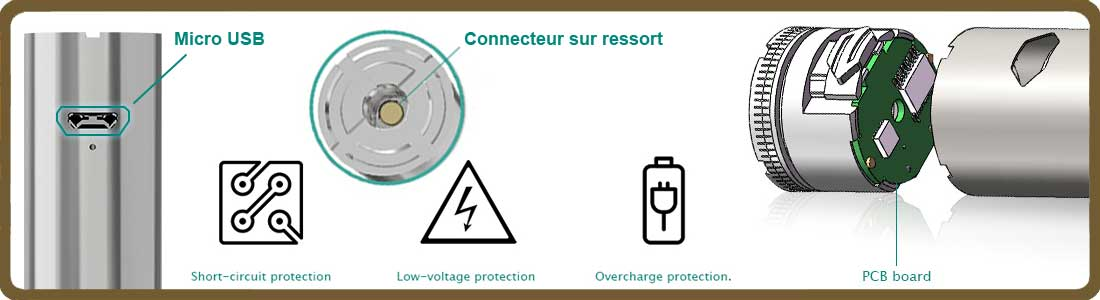 Batterie charge ijust2