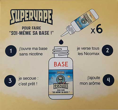 explication diy supervape
