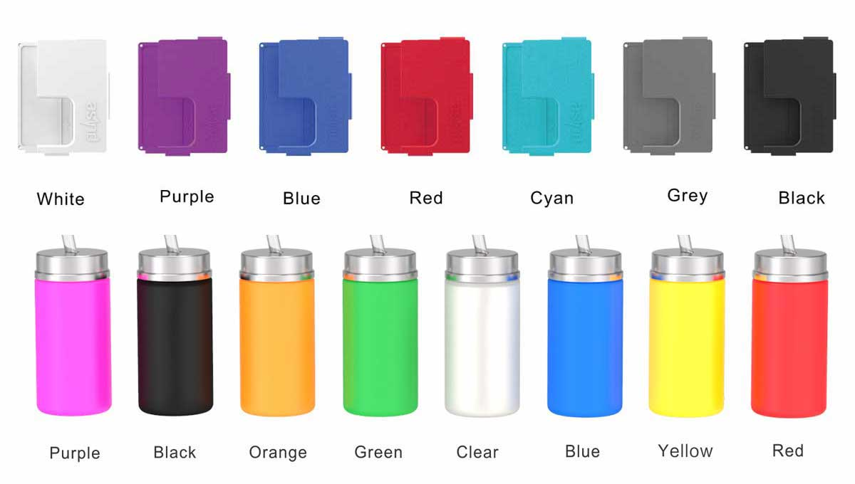 couleur box et flacon